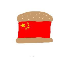 Chinese burger