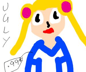 ugly sailor moon doll