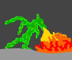 Dragon but in blobs