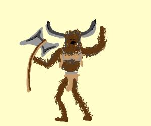 White Female Minotaur Sfw Please Drawception