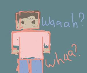 waaaah? in minecraft