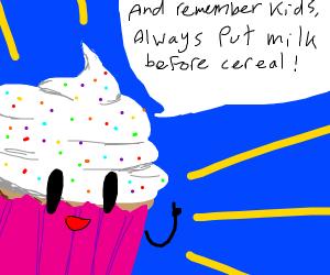 The good advice cupcake