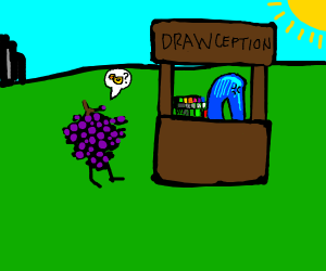 got any ducks? uh this is a drawception store