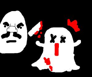 Egg brutaly murders snapchat ghost