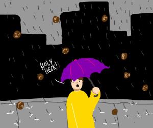 Raining meatballs