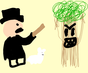 Magician and Angry Trees standoff