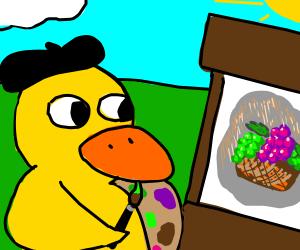 artistic duck