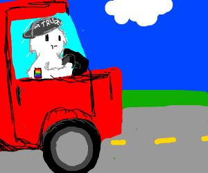 gay yeti trucker