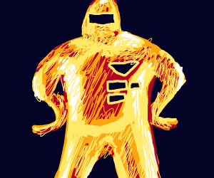 Gold Starman from Earthbound