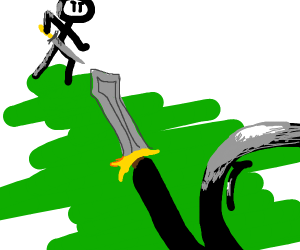 Stickman swordfight