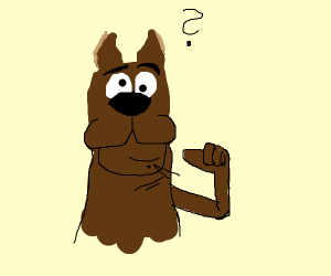 Scooby but something is terribly wrong