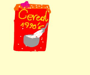 1990's Cereal