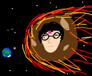 Harry Potter is a meteor