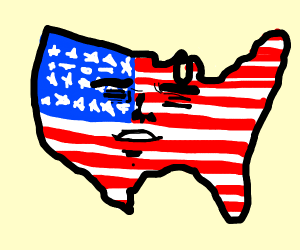 America with a face