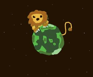 lion earth-god