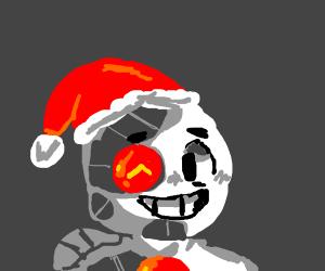 Cyborg man's christmas