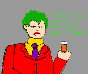 the Joker gets therapy and heals