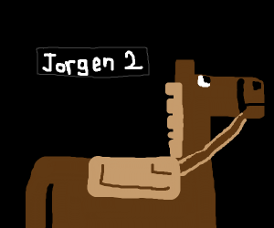minecraft horse called Jorgen 2 ?