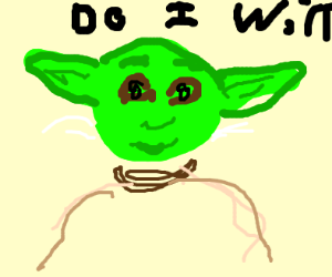 yoda is determined