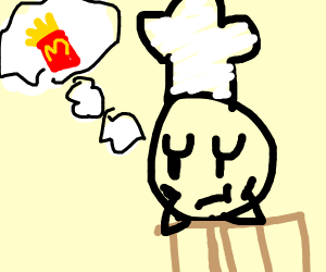5 stars Chef thinks about McDonald fries
