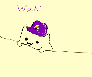 Waluigi Bongo Cat