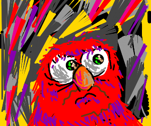 Existential Crisis Elmo