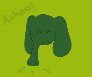 Elephant sneeze