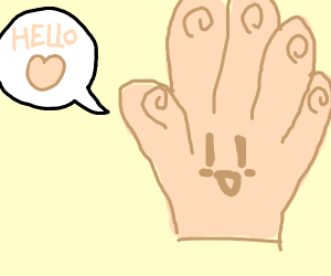 Friendly hand