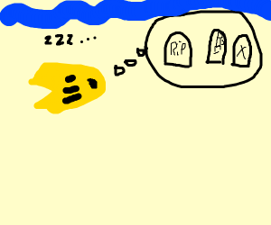 Goldfish dreaming of a Cemetary
