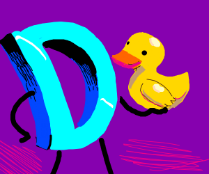 Drawception and a duck