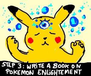 Step 2: Activate Pikachu's third eye.