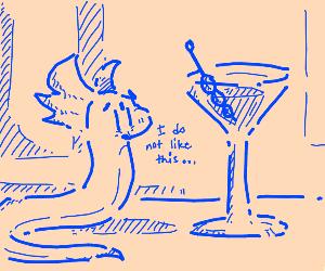 Dratini doesn't like Martinis