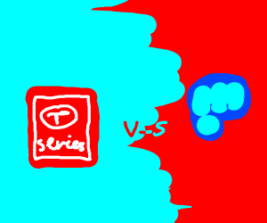 Tseries vs pewdiepie