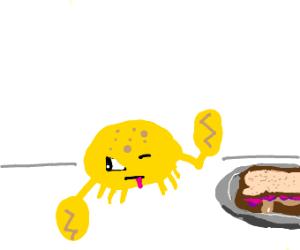 lemon grab hates pb&j