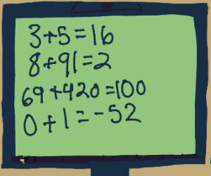 Computer has wrong math answers