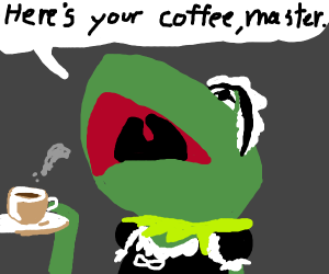 Kermit's a maid now