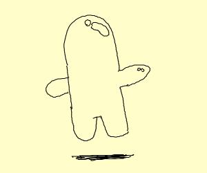 bubble boy from spongebob