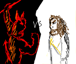 Satan versus Jesus