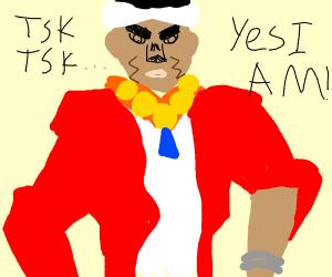 TSK TSK, YES I AM!