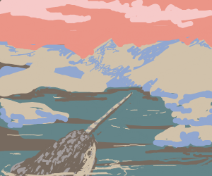 free draw but it has to have a narwhal in it