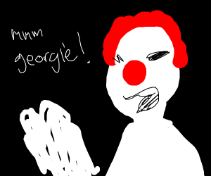 Pennywise busting a nut