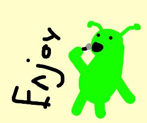 Ogre enjoying Life