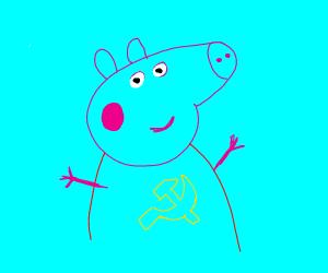 Communist Peppa Pig