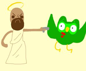 jeseus killing dulingo