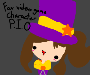 Fav. video Game character PIO