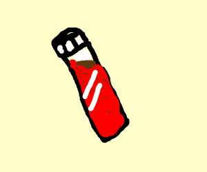 a vial of blood