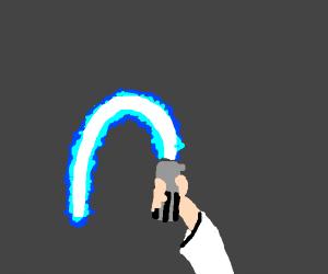 Light saber but it's like a wet noodle