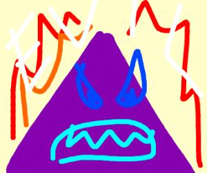 Evil Purple Pyramid