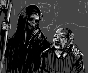 Death Escorts Senior Citizen