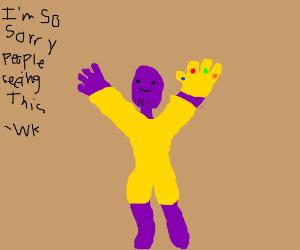 Thanos emote.